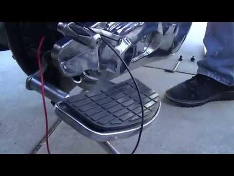 Harley Davidson EVO charging system diagnosis, stator test