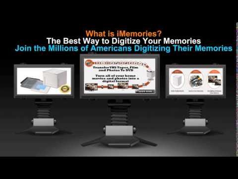 Transfer VHS Tapes, Film and Photos To DVD - The Best Way to Digitize Your Memories