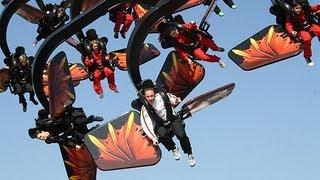 Flying Ninjago: Erstflug der Weltneuheit von Legoland Deutschland am 22.03.2012
