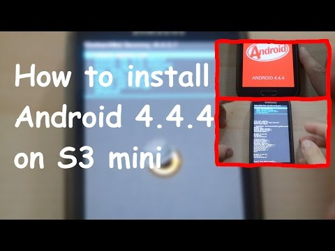 How to install Android 4.4.4 on the Samsung Galaxy S3 mini