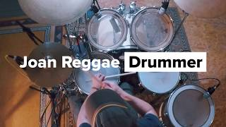 Is This Love - Bob Marley and The Wailers - By Joan Reggae Drummer  (Drum Cam)