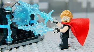Lego Infinity War: New Hammer Of Thor   Brick Channel Lego Stop Motion