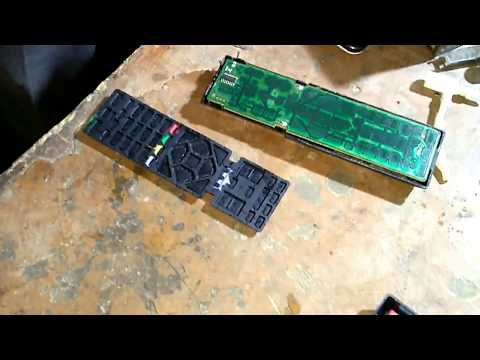 Sony LED TV Remote Control : How to Open and repair Non Working Buttons