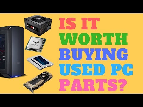 Is it Worth Buying Used PC Parts?