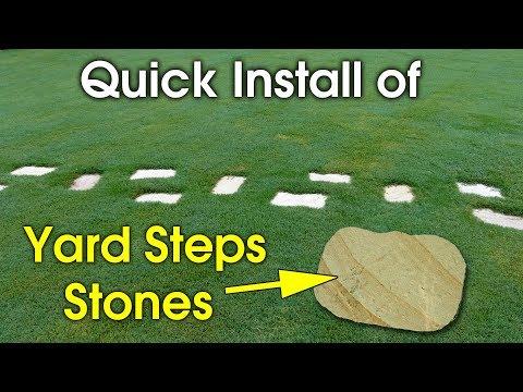 Installing Step Stones