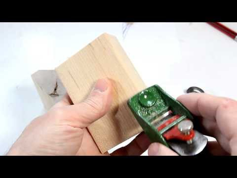 Making roundovers with a hand plane