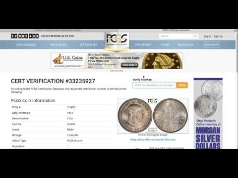 iCollectr.com: Coin Collection Management - Auto Certification Linking