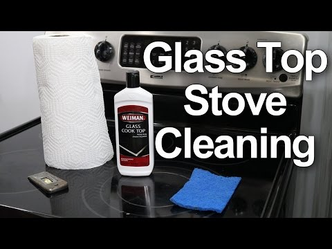 Glass Top Stove Cleaning - #1 Best Method