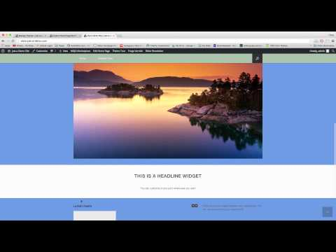 Creating Full Width Pages - WordPress