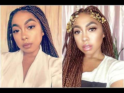 How To Loosen Tight/Sore Braids | BOX BRAID SERIES. 1