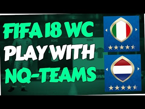 Fifa 18 World Cup Mode - How to play with non-qualified Teams