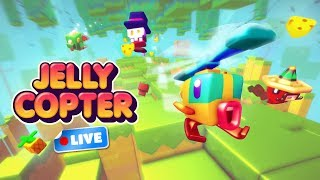 🚁 Jelly Copter - Official Launch Livestream