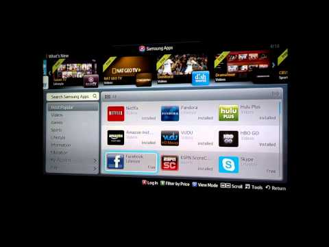 How to Install Apps on Samsung TV