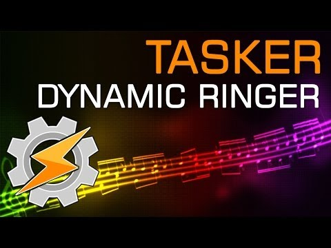 Tasker Dynamic Ringer Volume Profile