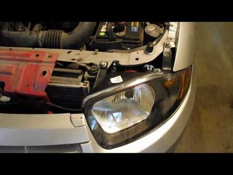 DIY - How to replace your Chevy Cavalier headlight