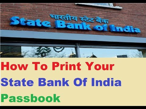 How To Print SBI Passbook : Use Your Nearest Machine To Print
