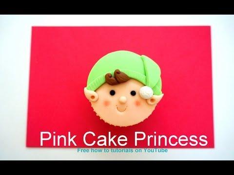 Christmas Cupcakes - How-to Make a Christmas Elf Cupcake