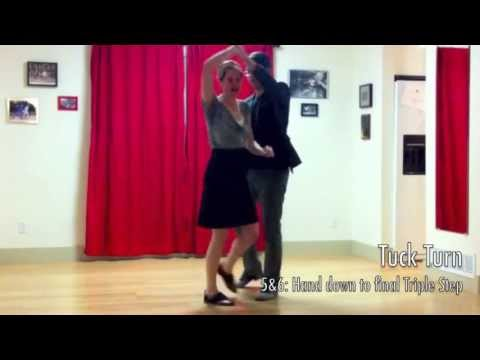 Learn to Swing Dance Lindy Hop | Level 2 Lesson 3 (Triple Swing) | Shauna Marble | Lindy Ladder
