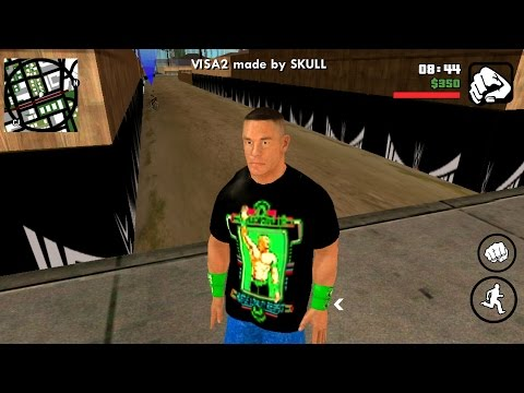 WWE mods On GTA San Andreas (android)