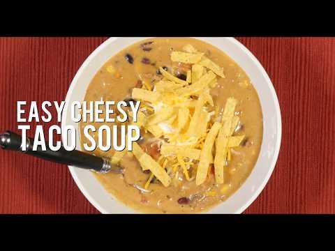Easy Cheesy Taco Soup