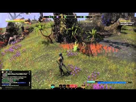 ESO: Bots infinitely farming jute