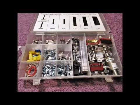 Recycle / Reuse Plastic Hardware Kit Boxes