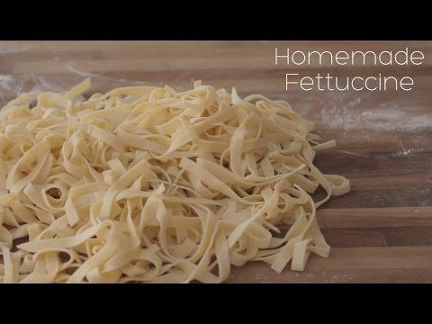 Homemade Fettuccine Recipe | Plate and Set | ASMR