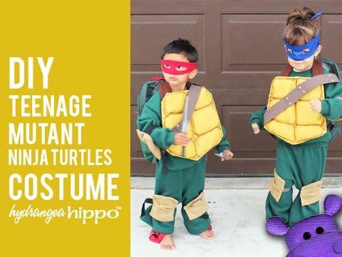 DIY Teenage Mutant Ninja Turtles KIDS Costumes