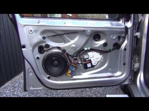 Front door speaker change Golf MK5 8