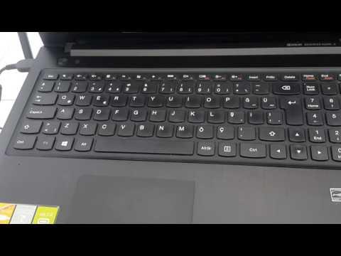 Lenovo G500 serisi biosa girme.