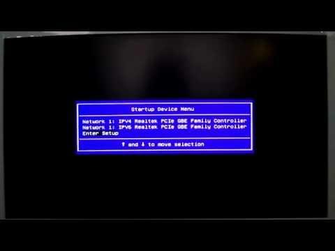 Boot USB Lenovo serie C40 - Configurar la Bios