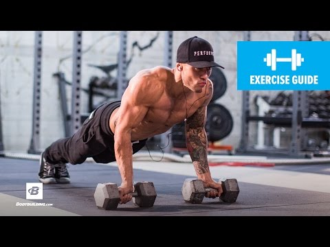 5 Push-up Variations for Your Chest Workout