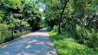 Walking In New York City (4K Ultra HD 60fps) - Highland Park Ridgewood Reservoir (GoPro Hero 9)