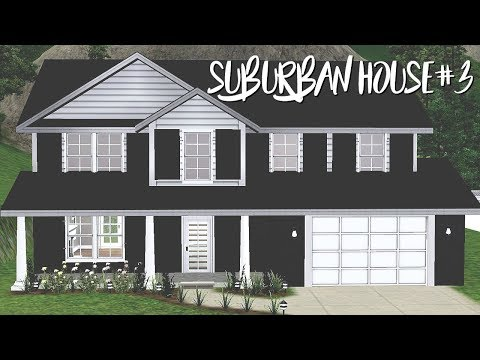 THE SIMS 3 HOUSE BUILDING | BLOCK OF SUBURBAN HOUSES SERIES #3