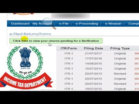 How to E-Verify Income tax return or ITR V (2018-19) to save time to send hard copy of ITR V to CPC