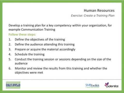 How to Prepare Effective Employee Training