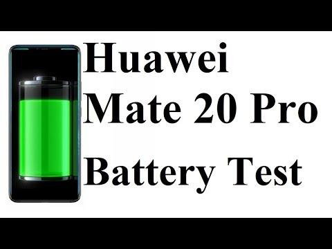 Huawei Mate 20 Pro - BATTERY DRAIN TEST