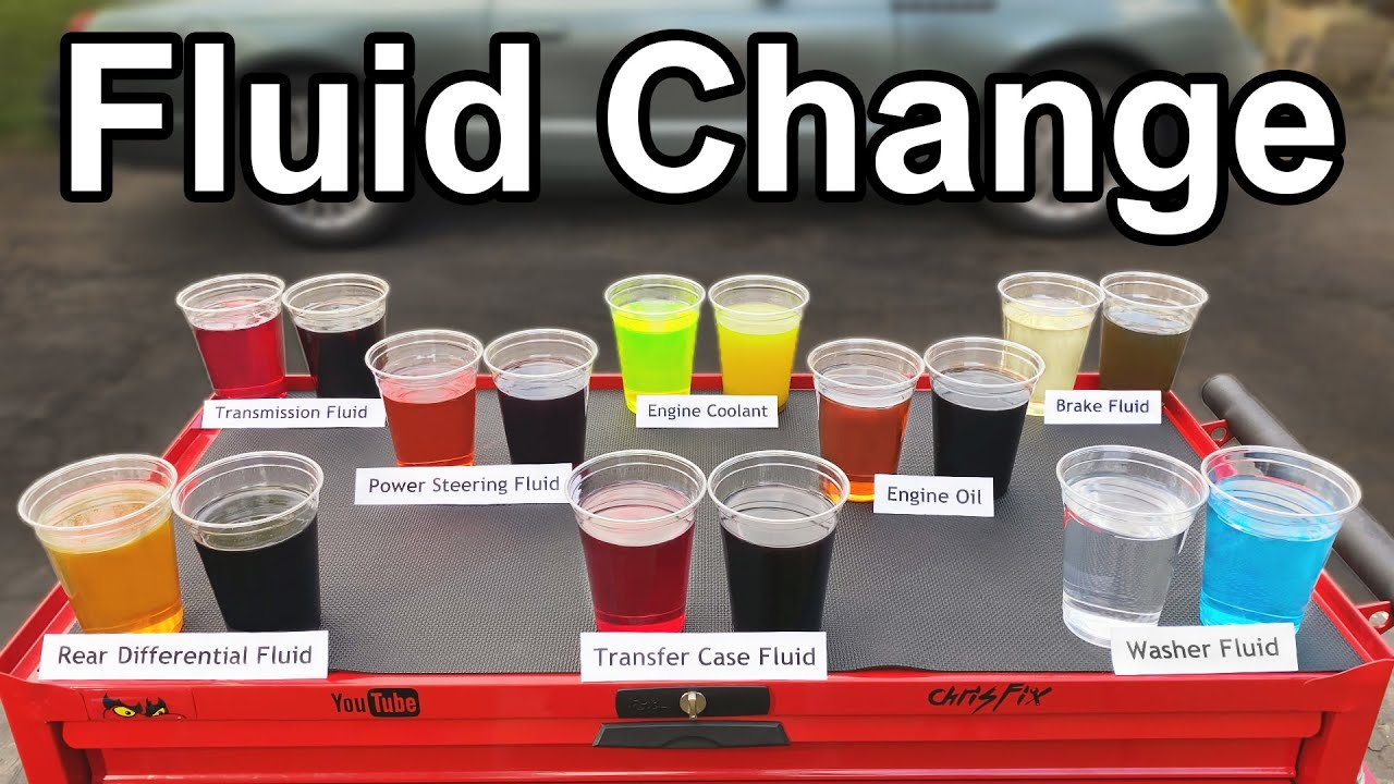 How to Change EVERY FLUID in your Car or Truck (Oil, Transmission, Coolant, Brake, and More)