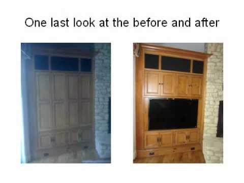 TV Cabinet Modification