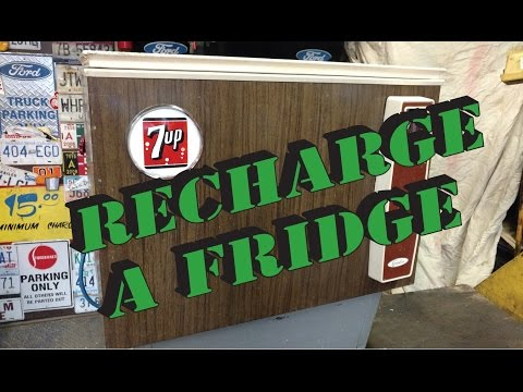 recharge a Refrigerator with freon