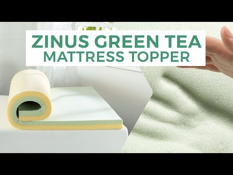 Zinus Green Tea Memory Foam Mattress Topper Demo