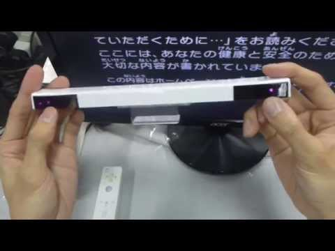 HOW TO USE WIRELESS INFRARED SENSOR BAR FOR WII