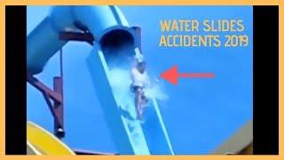 Water Slide Fail Compilation - EXTREM! 2019
