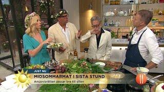Fredrik Erikssons bästa recept till midsommar   - Nyhetsmorgon (TV4)