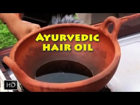 Ayurvedic Hair Massage Oil - How To Make Hair Oils At Home - For Long & Shiny Hair