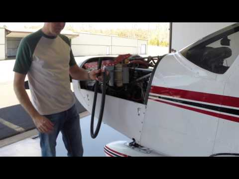 PA-28 Oil Change before flying to Sun n Fun: Part 1