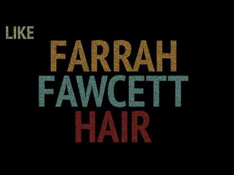 Farrah Fawcett Hair Kinetic Type