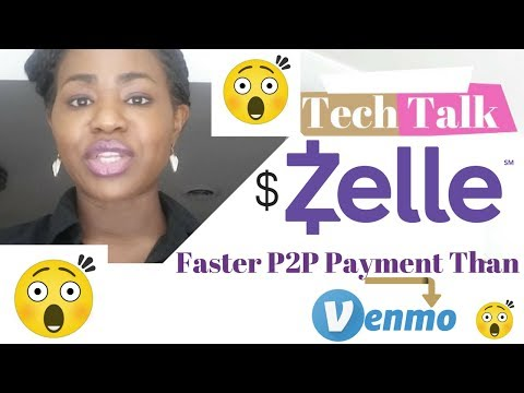 Tech Talk: Zelle Pay P2P Payment: Faster Than Venmo & Venmo Killer I Oby Nnadi
