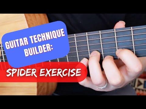 Guitar Technique Builder: Spider Exercise