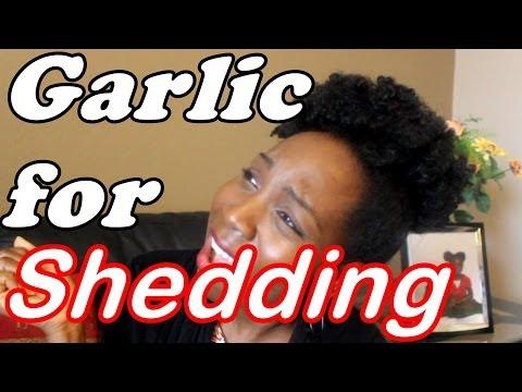 Garlic and Shedding in Natural Hair